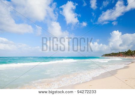 Atlantic Ocean, Dominican Republic. Punta Cana