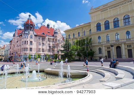 Dugonics Square In Szeged