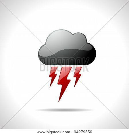 Vector weather icon