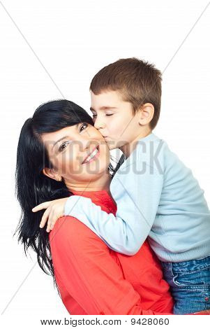 A Warm Kiss To My Mother