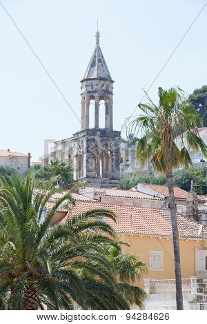Church Of Hvar In Croatia