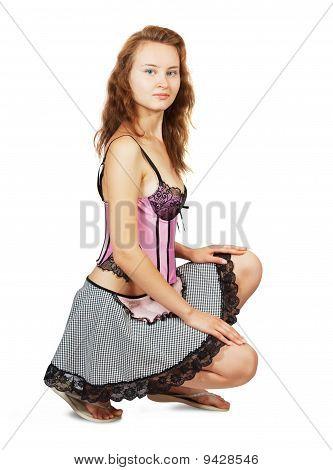Sexy Chambermaid
