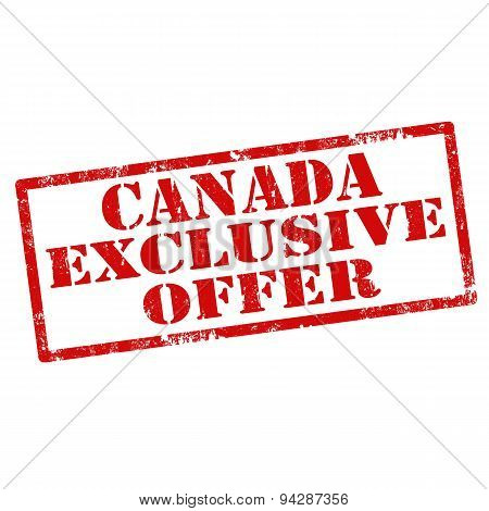 Canada Exclusive Offer