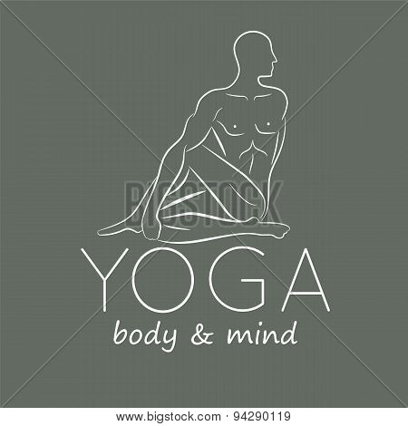 Logo for yoga studio.
