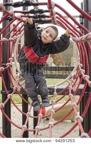 Child At Playground Park