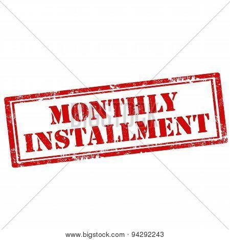 Monthly Installment