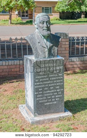 Memorial For General Gideon Joubert