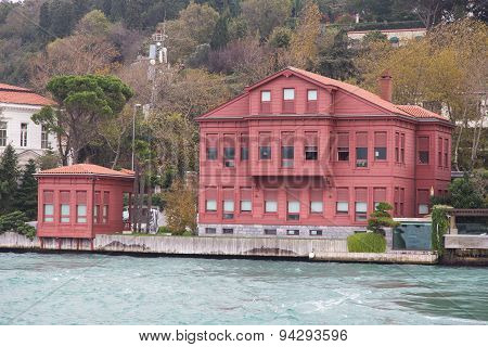 Building In Bosphorus Strait