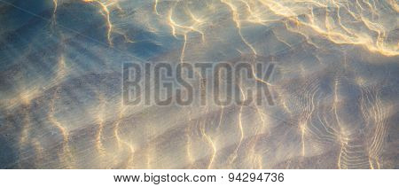 Art Tropical Beach Water Background