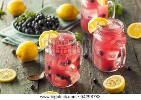 Organic Sweet Blueberry Lemonade