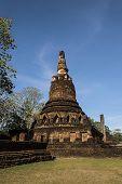 stock photo of cultural artifacts  - Kamphaeng Phet Historical national Park Thailand - JPG