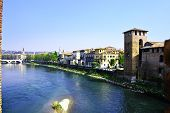picture of juliet  - Panorama of the beautiful city of Verona - JPG