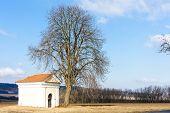 pic of chapels  - chapel near Kourim - JPG