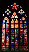 picture of pentecostal  - Pentecost (also called Whitsunday) depicted in St. Vitus Cathedral in Prague Czech Republic ** Note: Slight blurriness, best at smaller sizes - JPG