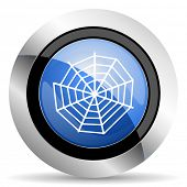 foto of spider web  - spider web icon  original modern design for web and mobile app on white background  - JPG