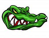 stock photo of alligators  - Alligator mascot - JPG