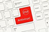 stock photo of antivirus  - Close - JPG