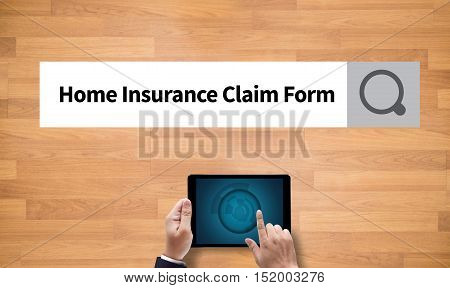 Home Insurance Claim Form Document Refund Home Insurance