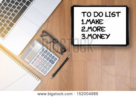 To Do List  - Make More Money