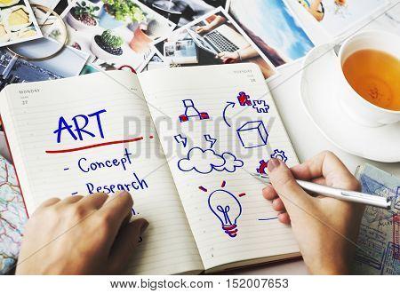 Art Creativity Simplicity Style Design Concept