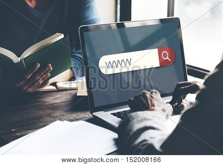 Www Search Engine Browser Find Looking Concept