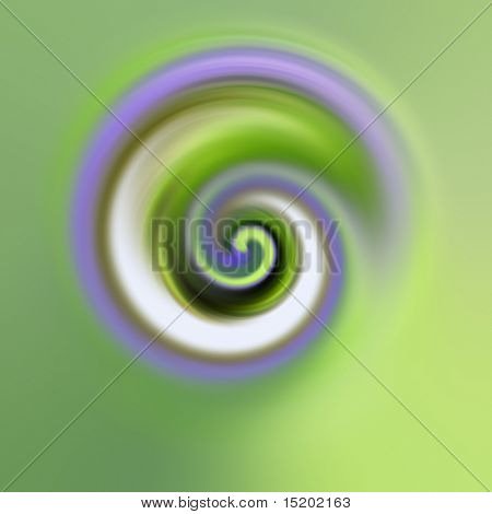 An illustration of an abstract esoteric swirl