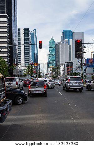 Driving In Panama City