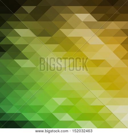 Vector Geometric Shapes. Colorful Mosaic Background.