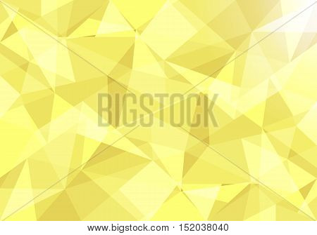Abstract gold geometrical background design shape pattern presentation angled triangle abstract shape art blue background wall. vector illustration.