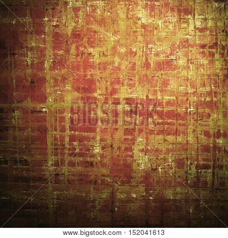 Art grungy texture, aged background with retro feeling. With different color patterns: yellow (beige); brown; red (orange); pink