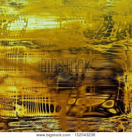 Retro design on grunge background or aged faded texture. With different color patterns: yellow (beige); brown; black; white