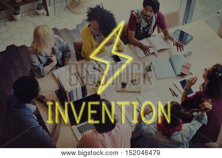 Creation Innovation Inspiration Ideas Concept