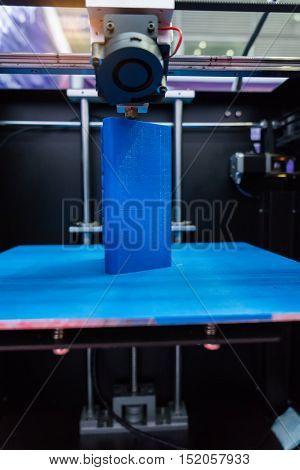 Three dimensional printing machine