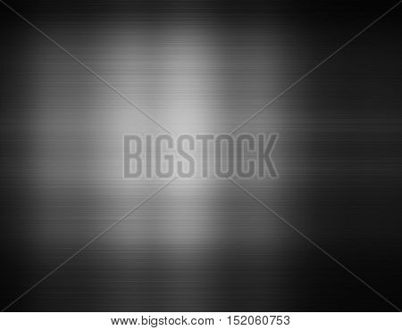 Decent grey light centered dark framed gradient texture background
