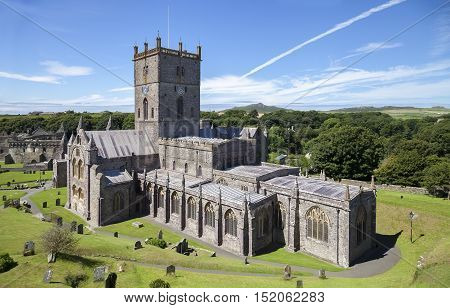 St David's Cathedral, Pembrokeshire, Wales, Great Britain