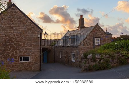The Garrison at dawn, St Mary's, Isles of Scilly, England