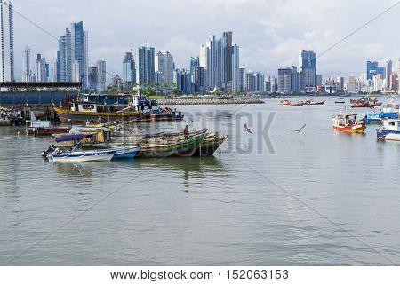 Fishing Boats In Panama City