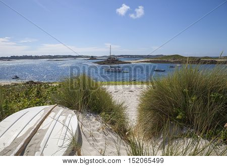 St Martin's Flats, Isles of Scilly, England.