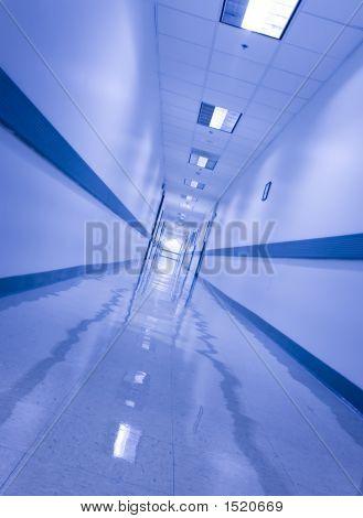 Slanted Hallway