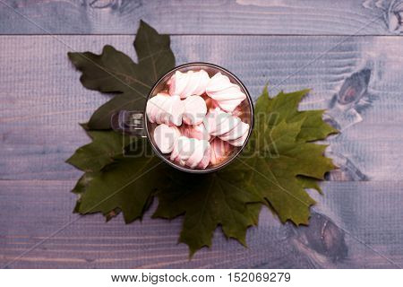 Marshmallow In Cup