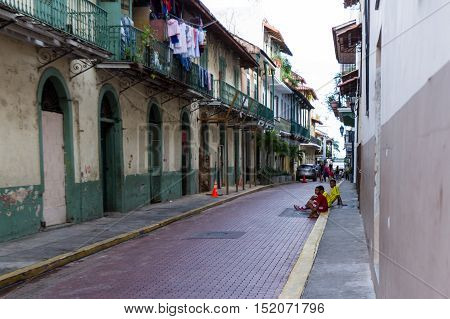 Buildings In Casco Viejo, Panama