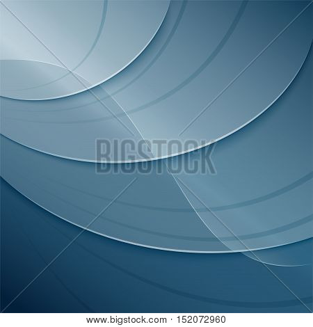 Illustration of aquatic depth abstract background concept