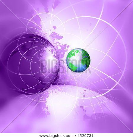 Internet Concept Background poster