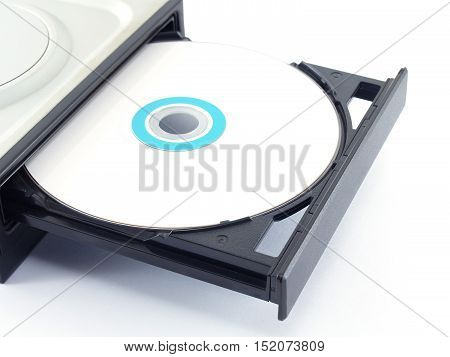 Cd or Dvd drive, hardware for records and storage data for computers