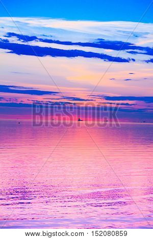 Sunset Panorama Paradise