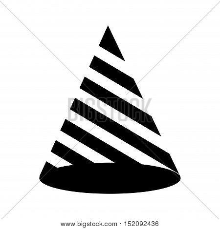hat birthday isolated icon vector illustration design