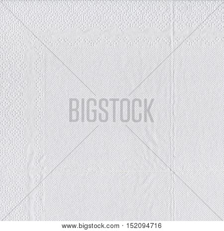 Texture of white tissue paper for background