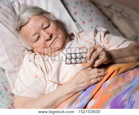 Old Sick Woman