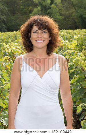 Winemaker, In Vineyard During Wine Harvest Season