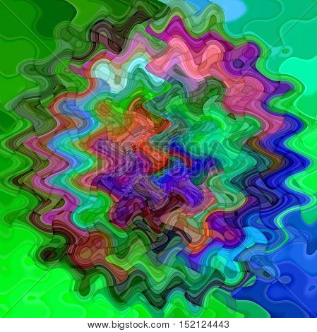 Abstract coloring background of the pastels abstract with visual mosaic, cubism and poolar coordinates effects